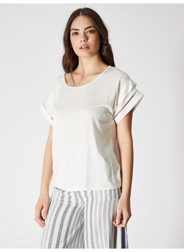 Vekem-Limited Edition Bluz Beyaz